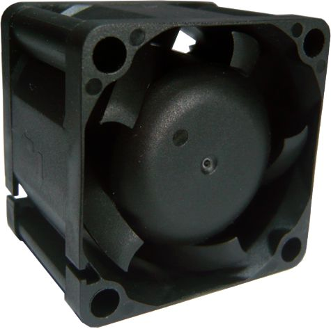 black rectangular fan