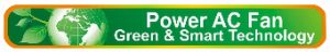 Power AC Fan Green & Smart Technology logo